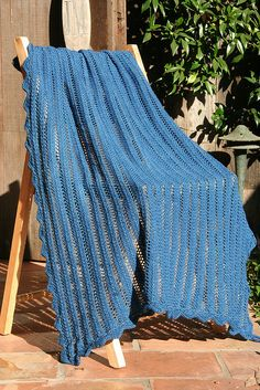 Cielo Baby Blanket By Lisa Dusseault - Free Knitted Pattern - (ravelry)