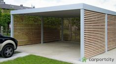 Who Buys Landscaping Rocks Solar Panel Cost, Solar Panels For Home, Best Solar Panels, Building A Carport, Carport Garage, Carport Modern, Modern Garage, Enclosed Carport, Wooden Facade