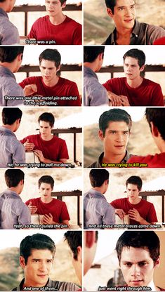 #TeenWolf #5x13 >>> Poor Stiles. What happened was an accident, but he still feels like he broke Scotts rule. He doesn't want to let his best friend down.