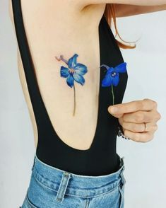 70 Awesome Watercolor Tattoo Designs for Women Small watercolor tattoos; watercolor tattoos for women; Realistic Flower Tattoo, Colorful Flower Tattoo, Beautiful Flower Tattoos, Skin Color Tattoos, Body Art Tattoos, Sleeve Tattoos, Ink Tattoos, Tatoos, Unique Tattoos