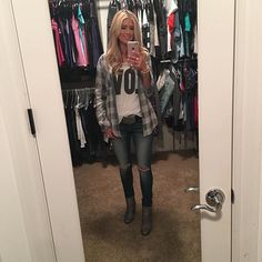 Pin for Later: Tarek and Christina El Moussa's Sweet Family Moments Will Make You Melt When Christina Invited Us Into Her Organized Closet