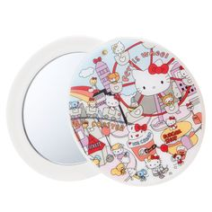 Hello Kitty Mini Compact Mirror Amusement Park SANRIO JAPAN
