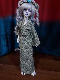 PF Fashion Cool Green Fur Decorative Mask 1//3 SD17 DZ AOD BJD Doll