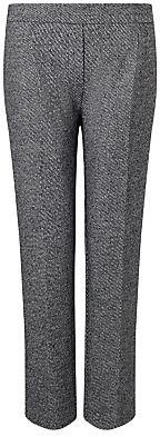 Marella Ecology Tweed Trousers, Black