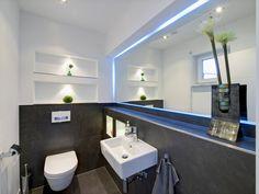 Fertighaus - Wohnidee Badezimmer