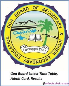 Goa Board of Secondary and Higher Secondary Education (GBSHSE) #Education #Exams #Study #university #school #studying #student #Entrance #Career #Jobs #hiring #jobopening #jobposting #employment #opportunity #recruiting #jobsearch #joblisting #training #interview #onlineJobs #All #Information