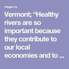 "Vermont; ""Healthy ri"
