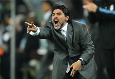 Diego Maradona Photo - Argentina v Mexico: 2010 FIFA World Cup - Round of Sixteen