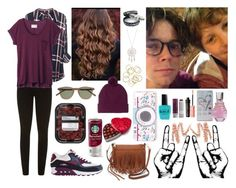 """""""Hanging w/ Ash and Harry"""" by tamtam20 ❤ liked on Polyvore featuring J.Crew, Rebecca Minkoff, Benefit, Monki, Korres, Paige Denim, rag & bone, NIKE, GUESS and Accessorize"""