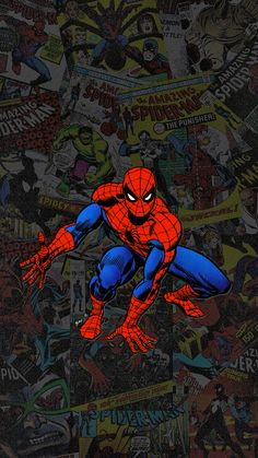 Wallpaper of Spiderman for Android and IOS - Wallpapers cool Mundo Marvel, Marvel Dc Comics, Marvel Heroes, Marvel Avengers, Chibi Marvel, Marvel Comic Character, Comic Book Characters, Marvel Characters, Spiderman Art
