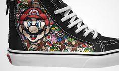 Nintendo : Vans lance une collection aux couleurs de Mario et compagnie