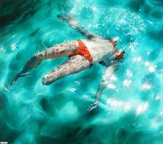 Эксперименты под водой от Sarah Harvey