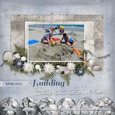 This photo works beautifully with my new release, Misty Cove.  #CarinGrobe #thestudio #digitalscrapbooking