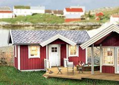 Dette koster deg under kroner Shed, Barn, Outdoor Structures, Summer, House, Scale Model, Converted Barn, Summer Time, Home