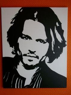**Johnny Depp ** Pop Art