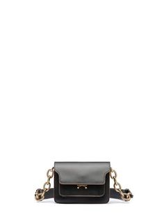 737c95247993  MINI TRUNK Bag In Calfskin With Chain from the Marni Spring Summer 2019  collection Women . Maha Blooki · Handbags