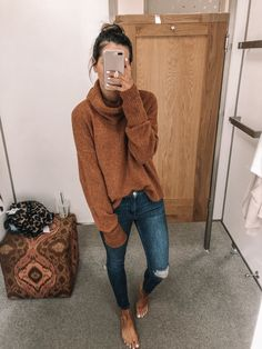 Nordstrom Anniversary Sale Picks & Try On 2019 - The Styled Press 47 Chic And Cute Winter Style Casual Outfit Ideas For Moms Lazy Fall Outfits, Fall Winter Outfits, Autumn Winter Fashion, Casual Outfits, Winter Clothes, Grunge Outfits, Preppy Style Winter, Simple Fall Outfits, Flannel Outfits