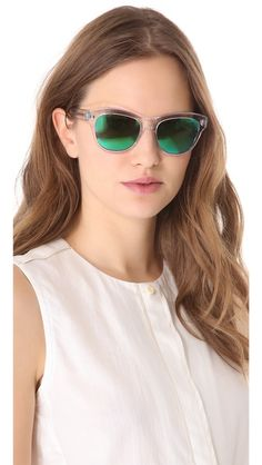 Oliver Peoples Eyewear Sofee Sunglasses//How fun are these?