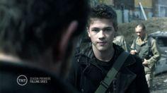 Connor Jessup as Ben Mason Falling Skies