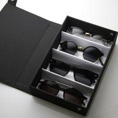 Amazon.com: Eyewear Collectors Edition Vinyl Sunglass Display Carrying Case (Black): Shoes