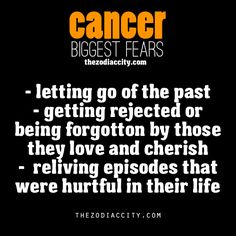 these are the biggest cancer downfalls. we care too much and don;t know how not to