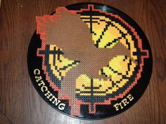 Catching Fire Mockingjay Perler Bead