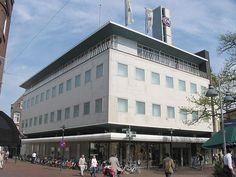Dudok, winkelpand C&A, Hilversum 1961