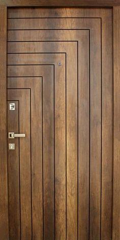 front door Wooden Front Door Design, Wooden Main Door Design, Double Door Design, Main Entrance Door Design, Home Entrance Decor, Pooja Room Door Design, Bedroom Door Design, Small House Interior Design, Door Design Interior