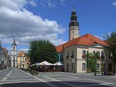 Town Hall and Main Square, Zielona Gora, Poland