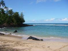 Ke'e Beach, favorite snorkeling spot we visited in Kauai! Maybe some day we'll visit again!