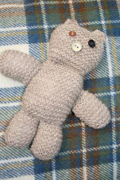 Button Eye Bear on Etsy, £15.00