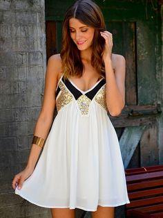 Black and gold dress   so pretty ✨