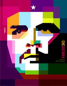 Che Guevara in WPAP by Edho (square style) by edhoartwork on DeviantArt