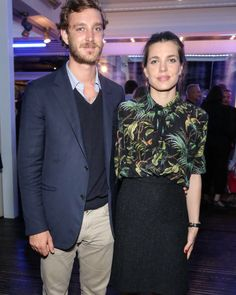 Charlotte and Pierre Casiraghi                              …