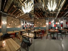 The Lodge Restaurant by Yellow Office architecture, Constanta – Romania » Retail Design Blog