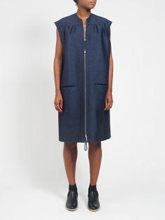 Smock Zip Dress