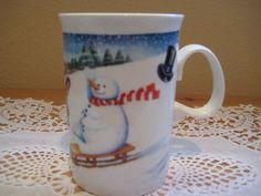 Dunoon Mister Snowman Coffee Mug