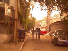 Friendship, hutongs (alleys) of Beijing, Sept 19, 2013