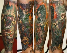 Denis Sivak Tattoo artist