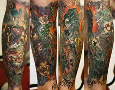 Denis Sivak Tattoo artist