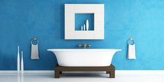 6 бюджетных способов обновить интерьер ванной без ремонта - http://lifehacker.ru/2016/07/09/update-bathroom-without-repair/