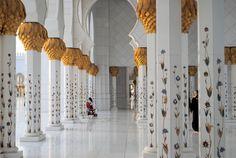 Visita a la Mezquita de Abu Dhabi desde Dubái