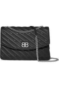 Balenciaga - Quilted leather shoulder bag
