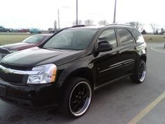 chevy equinox with black rims - Google Search