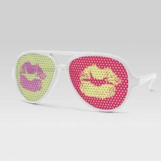 Eyepster Pop Kiss Aviator now featured on Fab.