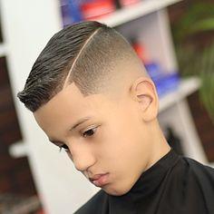 Mid Drop Fade + Side Part – Creative Kids Fade Haircut, Drop Fade Haircut, Boys Haircut Styles, Boy Haircuts Short, Cool Boys Haircuts, Toddler Boy Haircuts, Little Boy Haircuts, Haircuts For Men, Tapered Haircut
