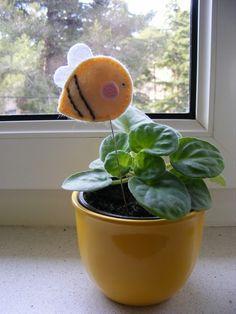 Moldes para hacer abejas de fieltro10