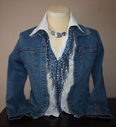 Hey, I found this really awesome Etsy listing at https://www.etsy.com/listing/96427324/denim-scarf-jewelry-star-sapphire