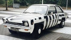 Opel Kadett Art Car By Patricia Van Lubeck