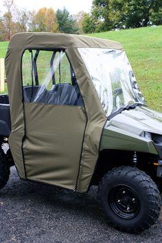 "2002-2008 Polaris Ranger Crew 700 2/"" Full Front Rear Black Lift Kit IRS 4WD"